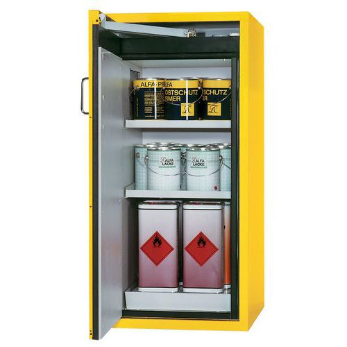 Armario seguridad tipo mostrador para productos inflamables