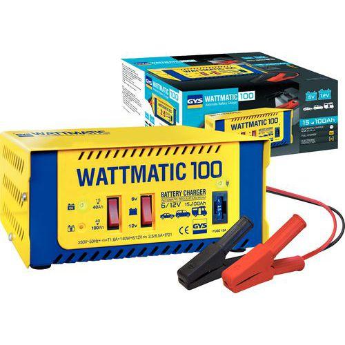 Cargador de baterías automático 6/12 V WATTMATIC 100
