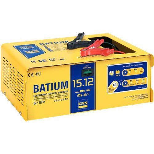 Cargador de batería automático con microprocesador 6/12 V