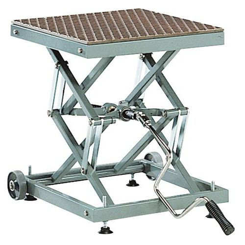 Mesa elevadora móvil mecánica - Capacidad 100 kg