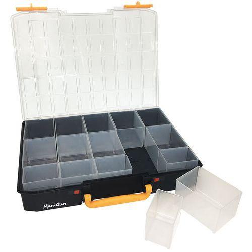 Maletín de almacenamiento - Compartimentos extraíbles - Manutan