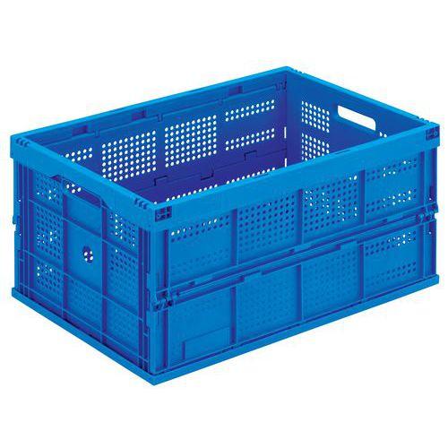 Caja plegable azul - 60 a 68 L