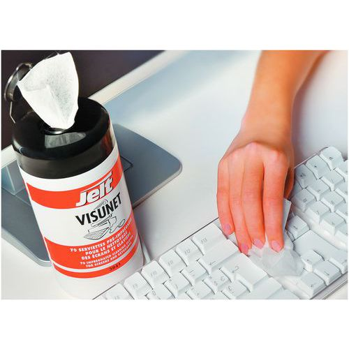 Limpiador para pantalla Visunet