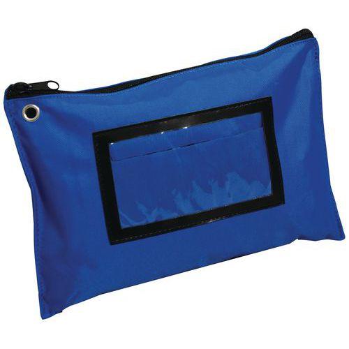 Funda plana multiuso azul A5