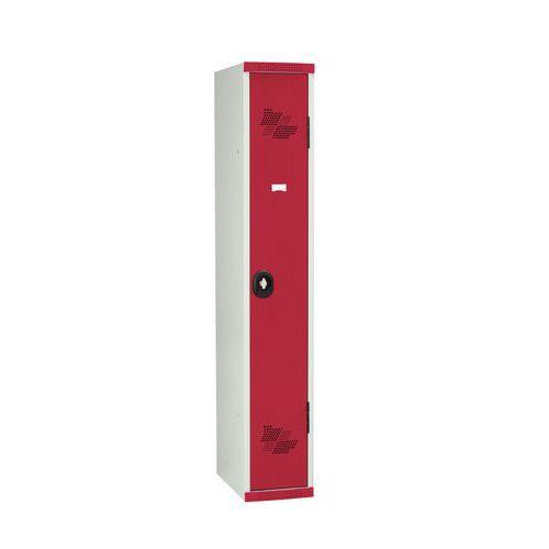 Taquilla 3 columnas Seamline Optimum® - Columna de ancho 300 mm - En base