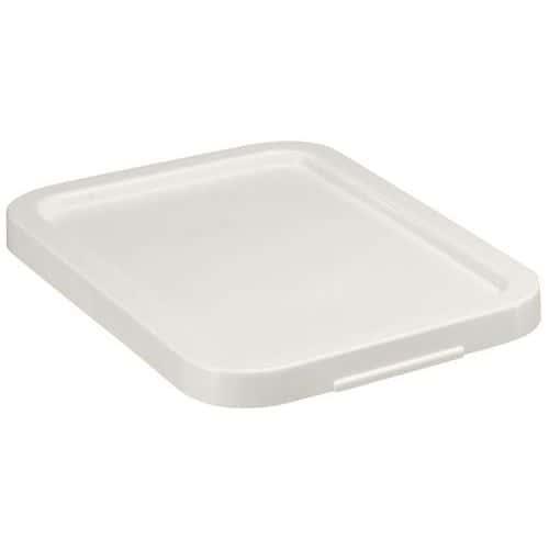 Tapa para cajas rectangulares apilables