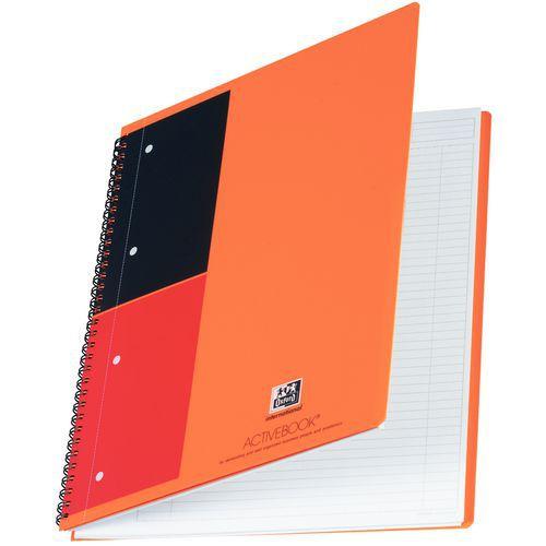 Cuaderno de espiral Oxford Activebook
