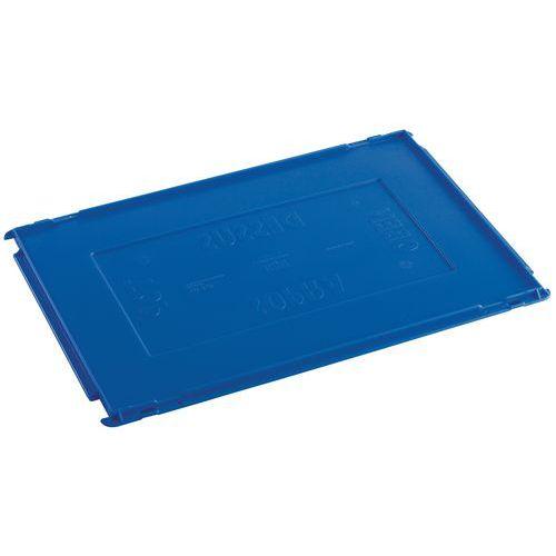 Tapa para caja con abertura frontal