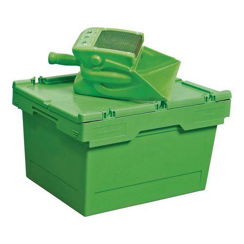 Kit de aplicación y recuperación de absorbentes - 25 litros