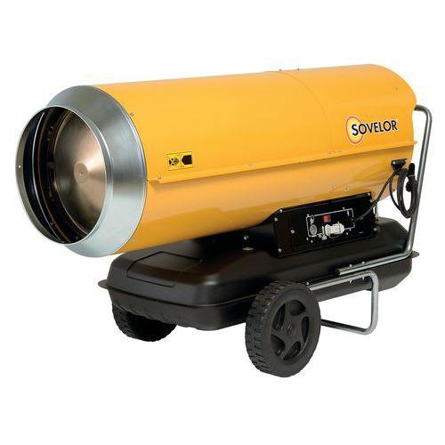 Calefactor portátil de aire impulsado - De combustible - Combustión directa - 111KW - Sovelor
