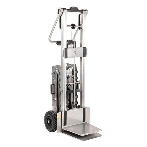 Carretilla motorizada para escaleras y plataforma elevadora - Capacidad 150kg
