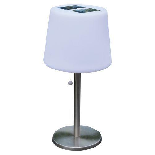Lámpara solar de mesa Mora 3 LED blanco - 100 lm - AIC Internacional