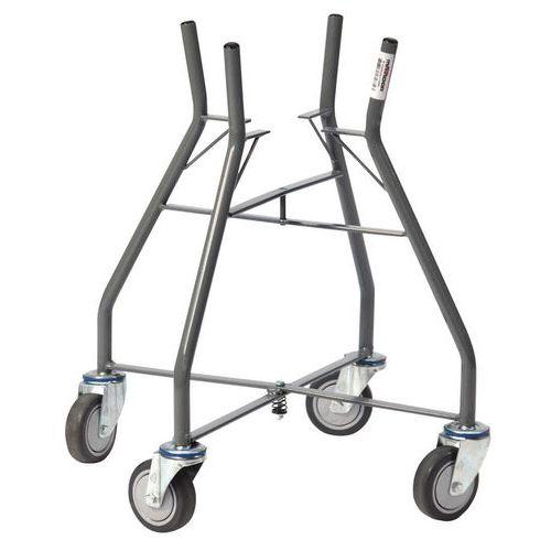 Sujetacubos de obra plegable 10/20litros - Capacidad 60kg