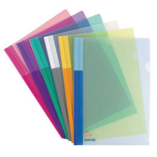 Fundas colores surtidos PP - surtidas - 24 unidades