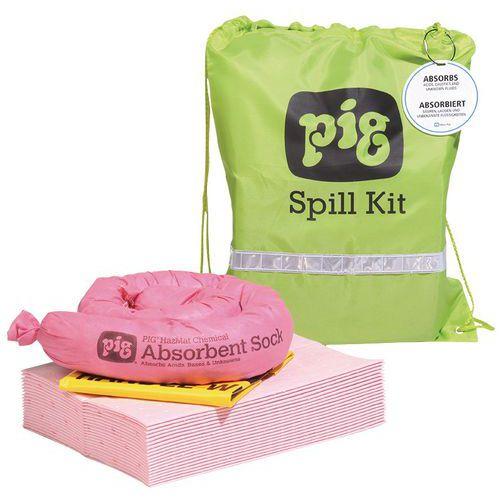 Bolsa de absorbentes para productos químicos - 11 L