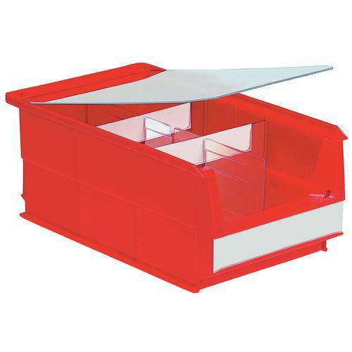 Separador longitudinal para cajas de compartimentos múltiples