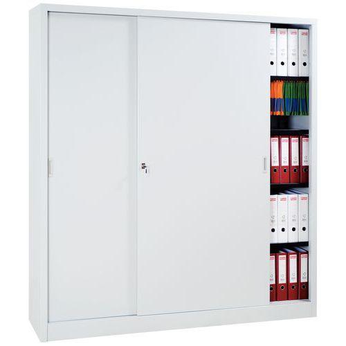Armario en kit de puertas correderas alto anchura 160 - Kits puertas correderas armarios ...