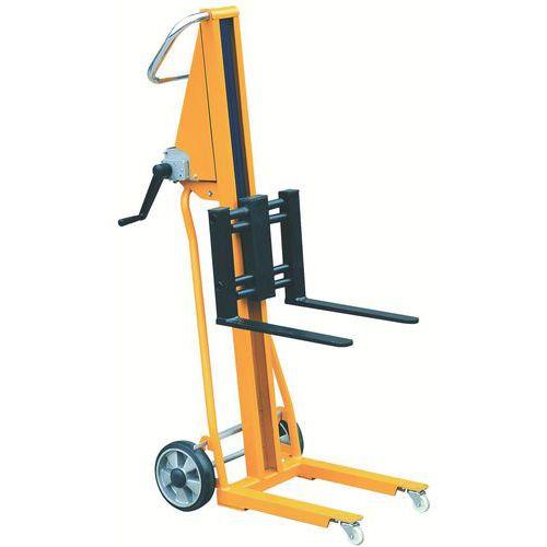 Apiladora minimanual capacidad 120 kg