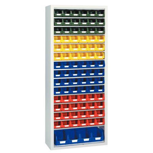 Armario estándar con cajas con abertura frontal Kangourou - Mediano - Sin puertas