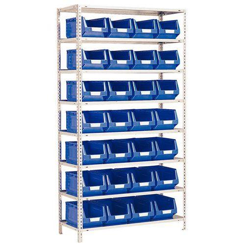 Estantería con cajas con abertura frontal Kangourou