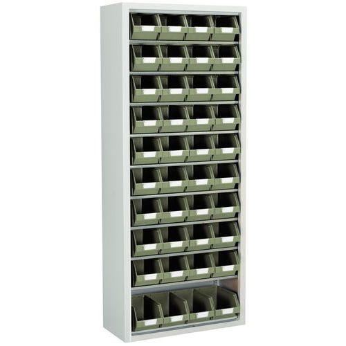 Armario con cajas con abertura frontal Manugreen - Mediano - Sin puertas