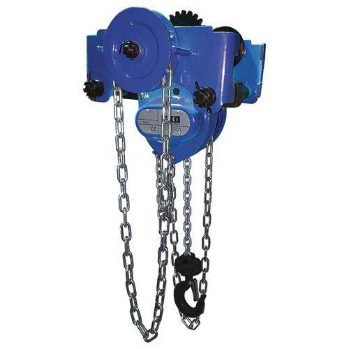Polipasto rodante combinado con cadena - Capacidad de 250kg a 5000kg - Exo