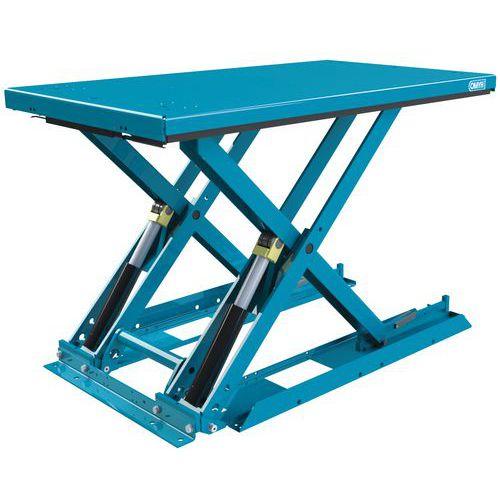 Mesa elevadora ergonómica fija extraplana MX-20 - Capacidad 2000 kg