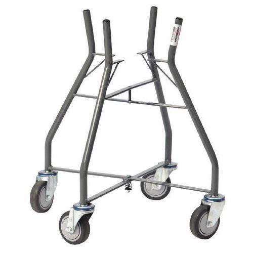Sujetacubos de obra plegable 30 litros - Capacidad 100 kg