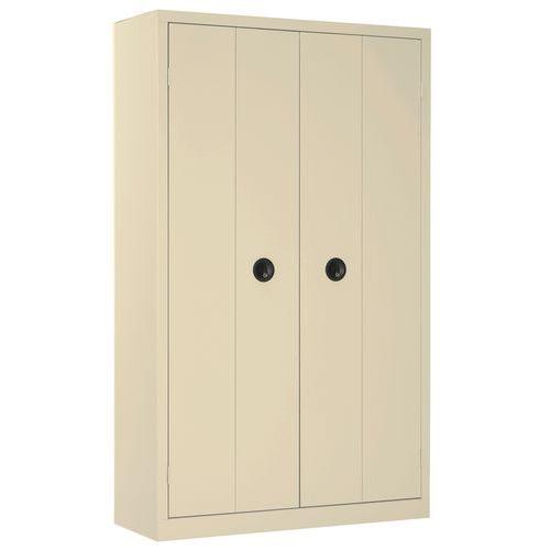 Armario de puertas plegables en kit alto anchura 120 - Kit puertas plegables ...