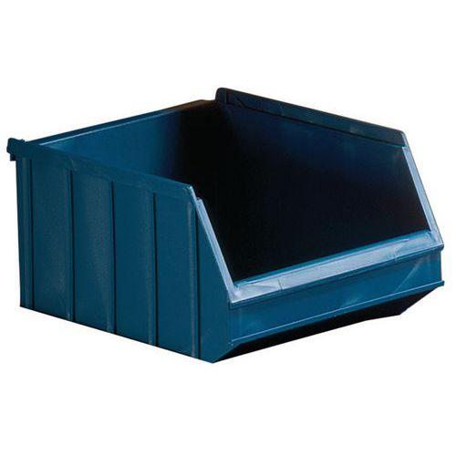 Caja con abertura frontal apilable - Longitud 250 mm - 6 L