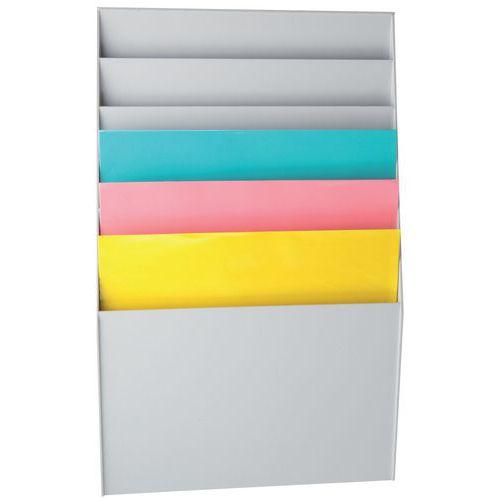 Clasificador - 6 compartimentos - Paperflow
