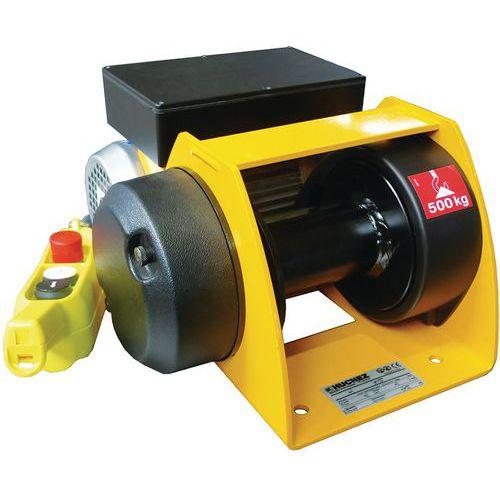 Cabrestante y cabrestante elevador Motorbox - Capacidad de 150 a 500 kg