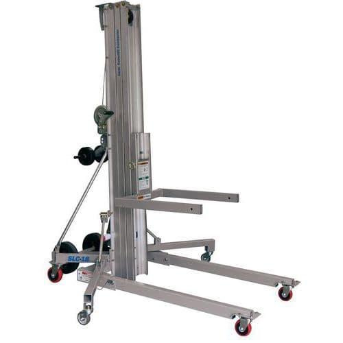 Elevador manual de carga - Capacidad 295 kg