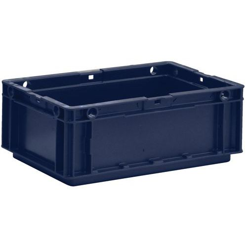 Caja para productos norma Europa - Lisa - Manutan