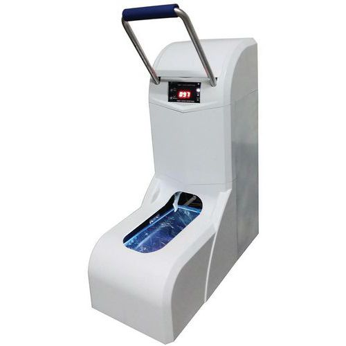 Dispensador automático de escarpines