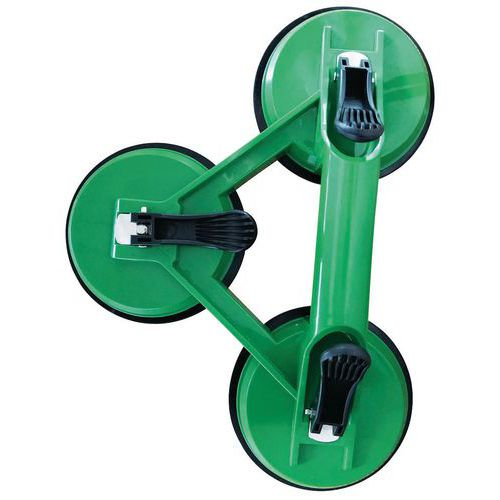 Ventosa triple ABS - Capacidad 120kg