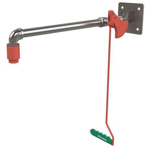 Ducha de seguridad de pared no calentada - Para interior - Hughes