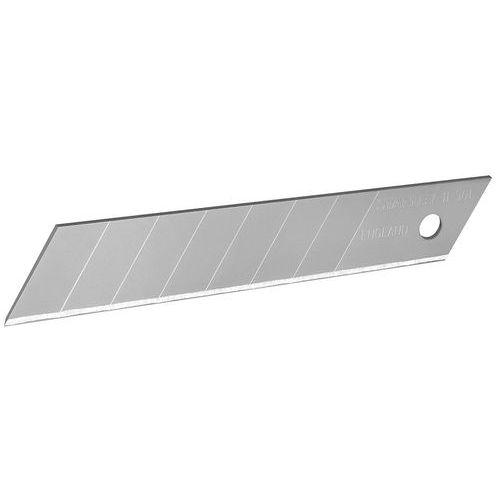 Lote de 10 cuchillas para cúter 18 mm - Stanley