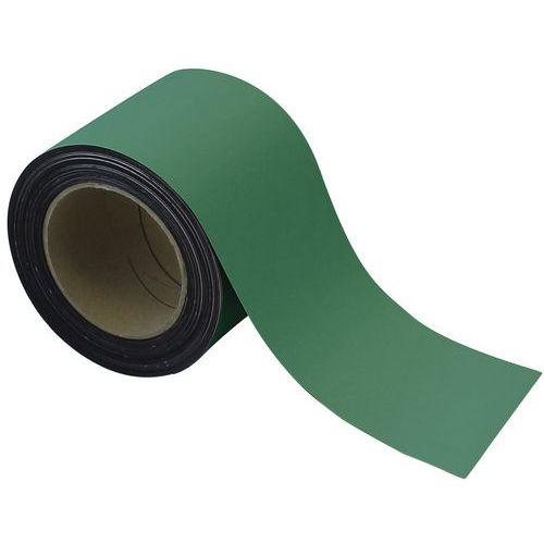 Cinta magnética borrable para marcado 10 m - Verde - Manutan