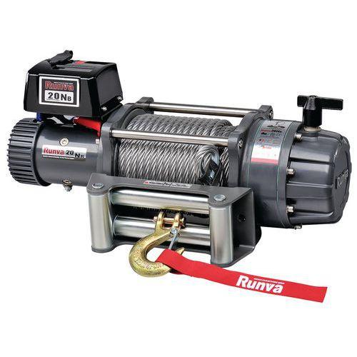 Cabrestante eléctrico de vehículos de emergencia - Capacidad 9072 kg - Huchez