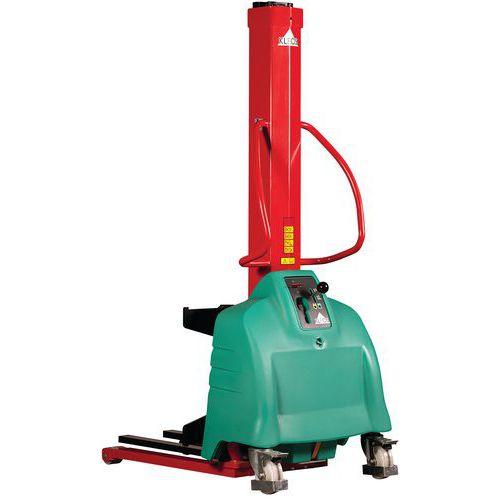 Apilador ergonómico semieléctrico - Capacidad 250 kg