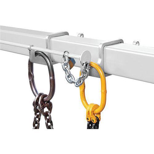 Seguridad antirrobo para pórtico portaaccesorios - Vetter