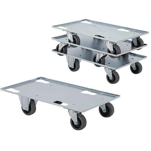 Plataforma rodante de metal - Capacidad 300kg