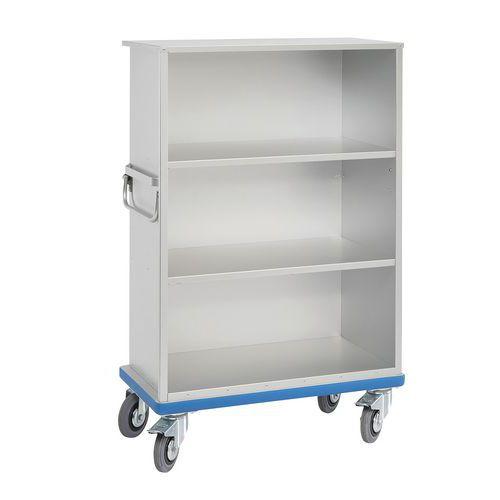 Carro armario de aluminio y sin puertas G®-CUP Light - Gmöhling