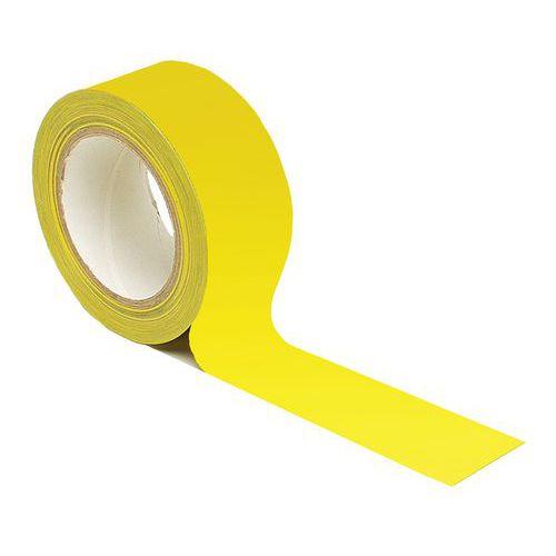 Cinta adhesiva para marcar el suelo - Distanciamiento social - Amarillo