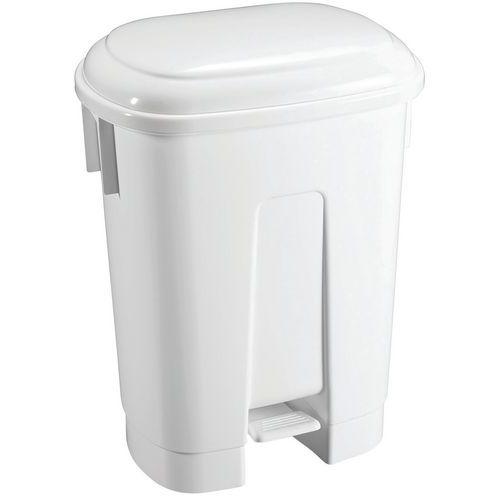 Cubo de basura con pedal - DERBY - 60L - TTS
