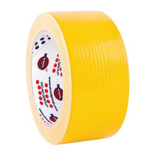 Cinta adhesiva de tela para mantener la distancia social - Amarillo