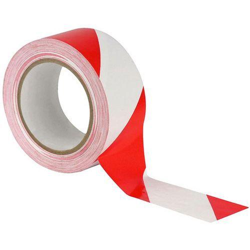 Cinta adhesiva de PE para mantener la distancia social - Bicolor