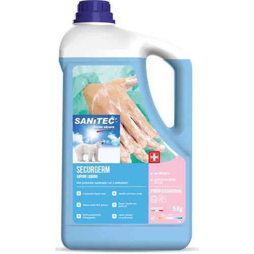 Jabón líquido con 2 agentes antibacterianos - 5kg